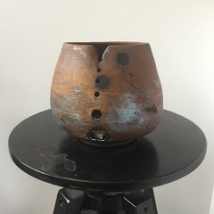 Terri's Earthy Rusty Yarn bowl