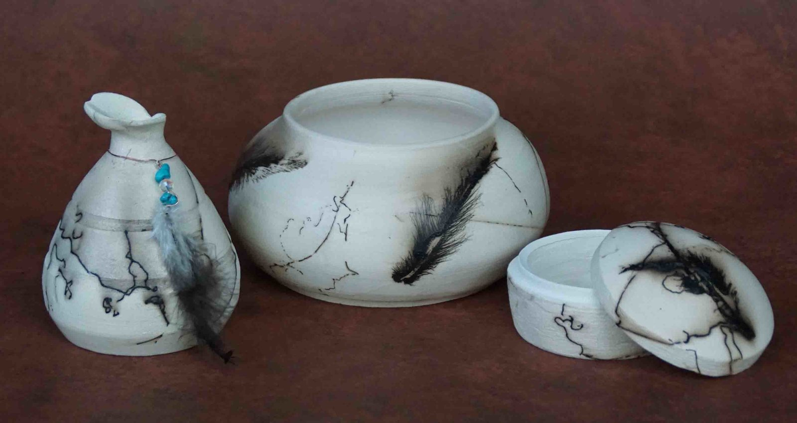 Another Horsehair Raku Trio 1 sm.jpg