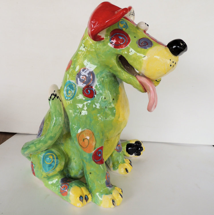 1 sit dog sculp green b.jpg
