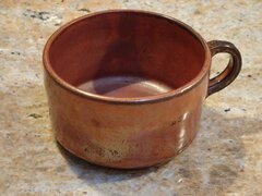 Amaco Ancient copper mug2
