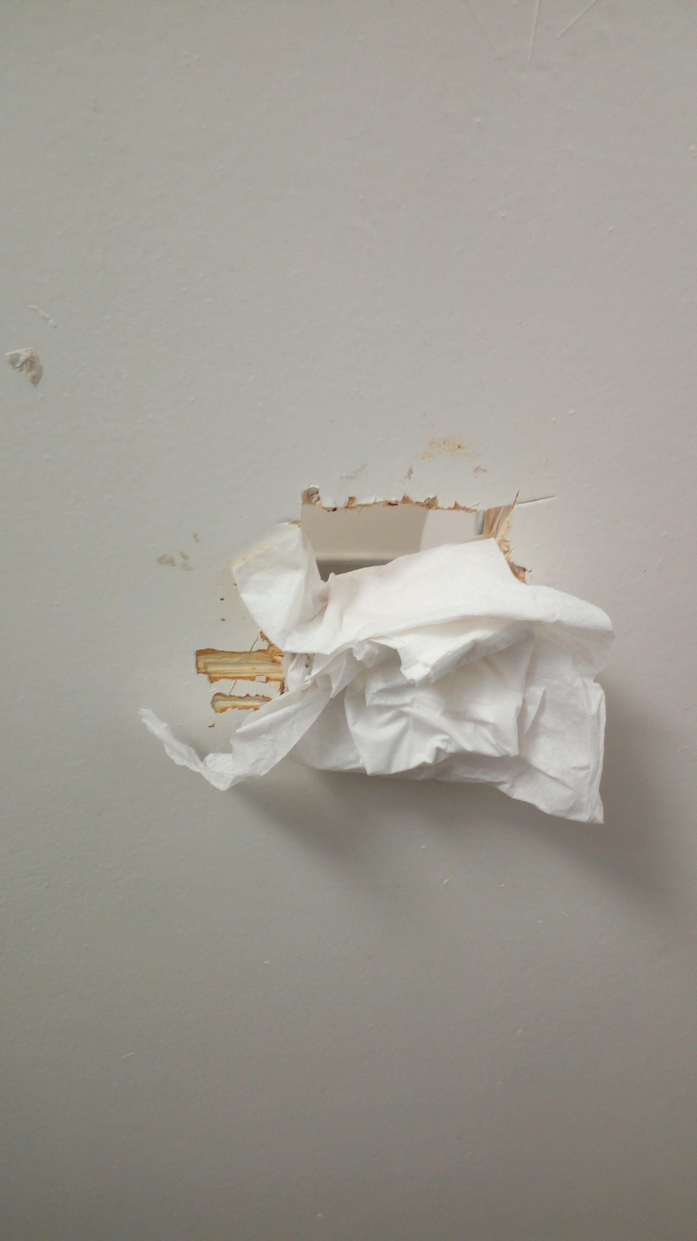 Glory hole tissue paper photo 902