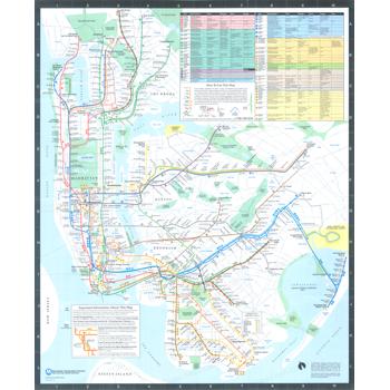 Nyc Subway Map 1989.1987 New York City Transit Authority Subwaymap Subway Maps Nyc