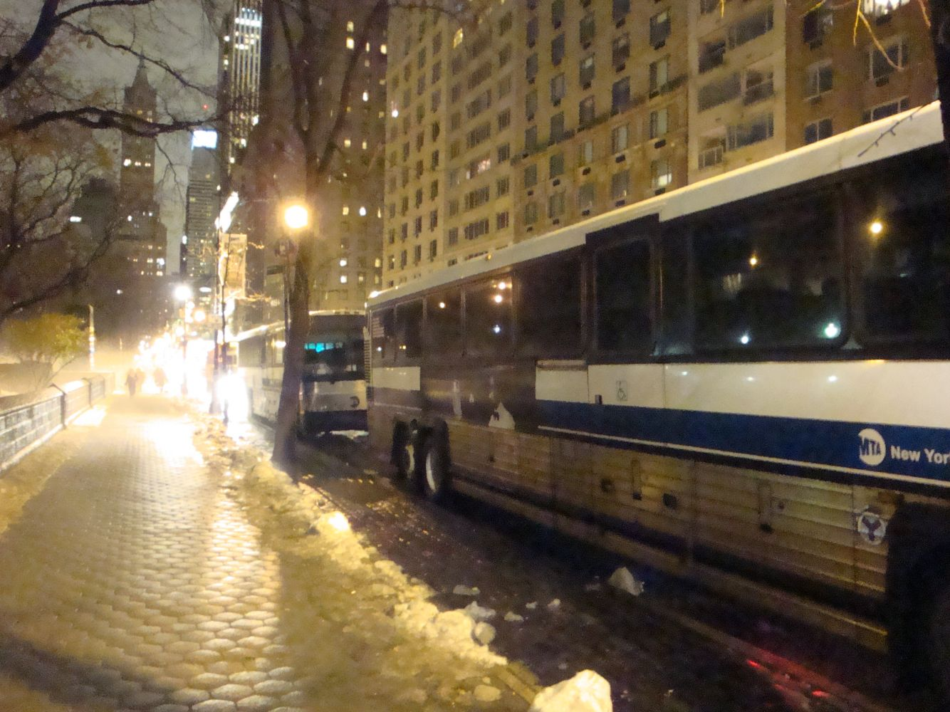 X1 Buses at Central Park South