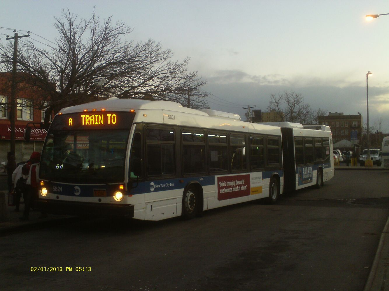 "2012 Nova Bus LF60102 ""LFS Artic Low Floor"" #5824"