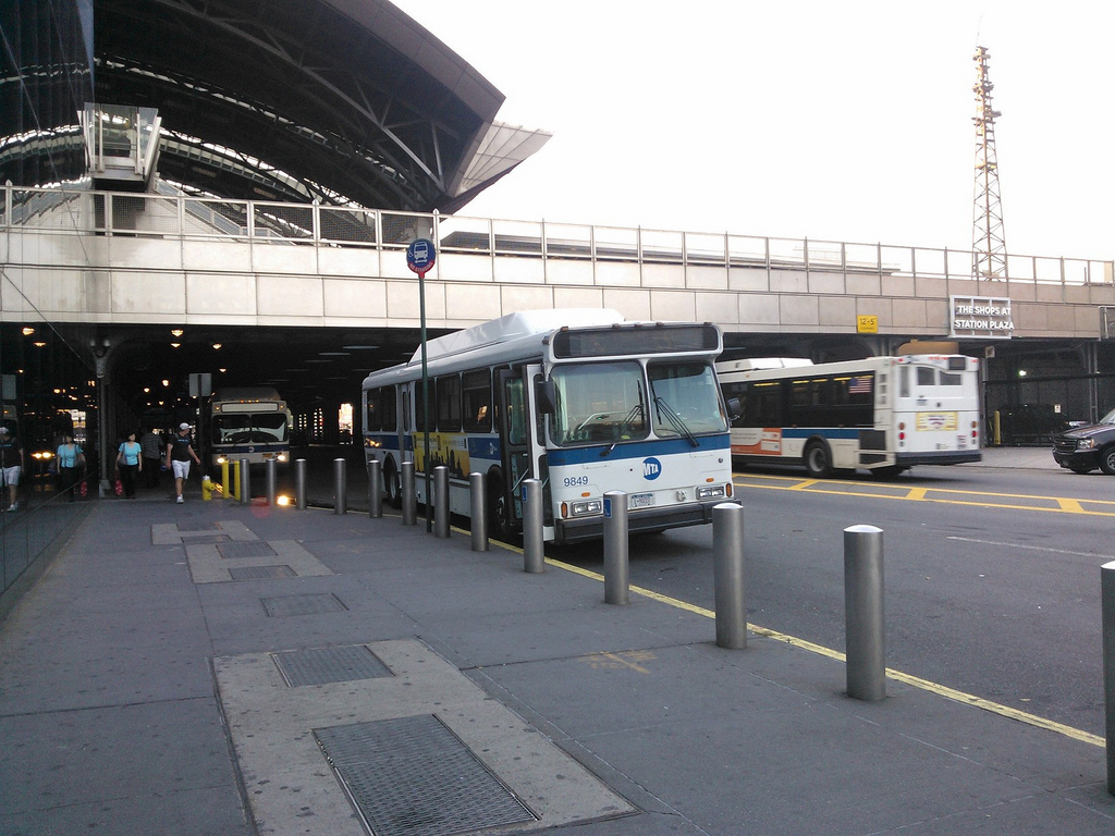 MTA Bus # 9849 on layover