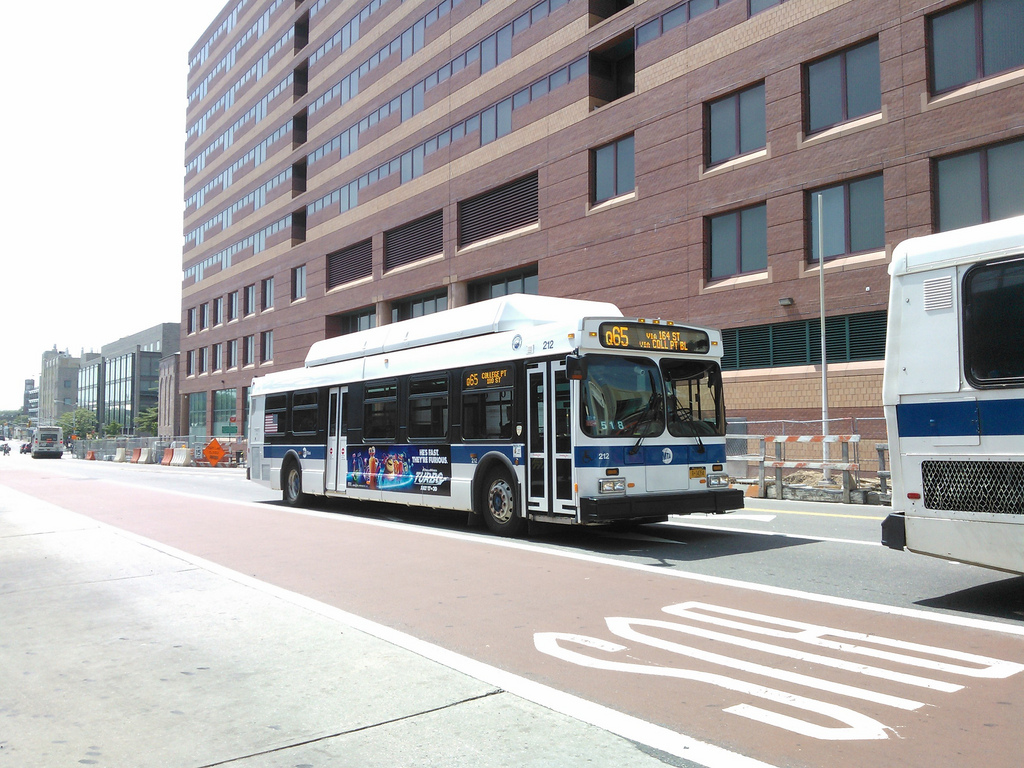 MTA Bus # 212 on the Q65
