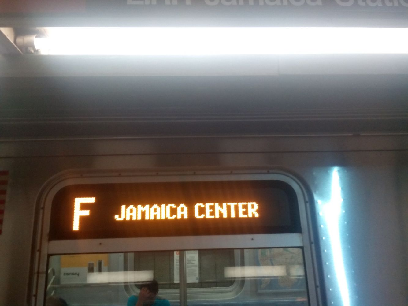 (F) Train to Jamaica Center-Parsons/Archer