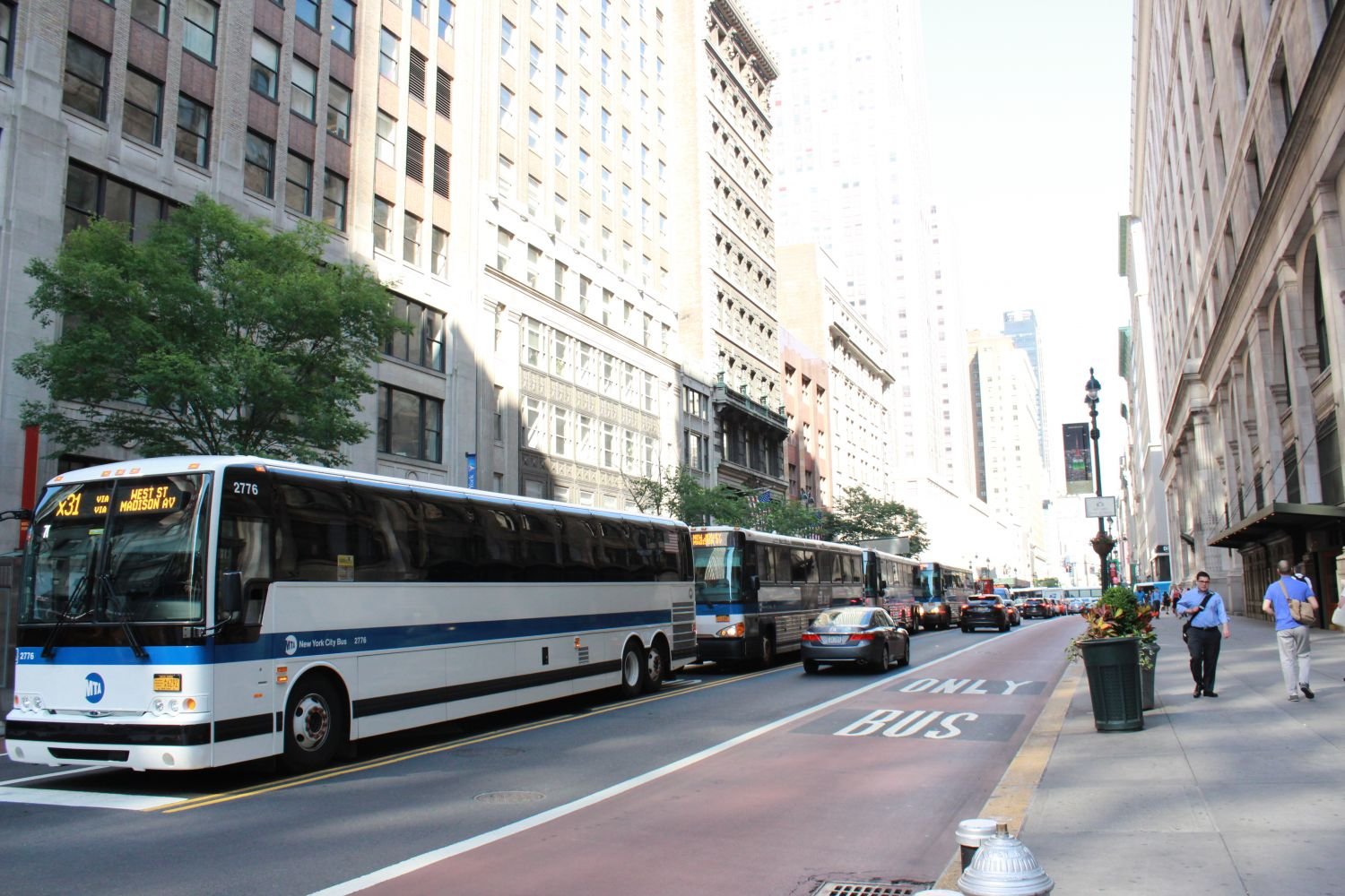 NYCT Bus 2776 on the X31