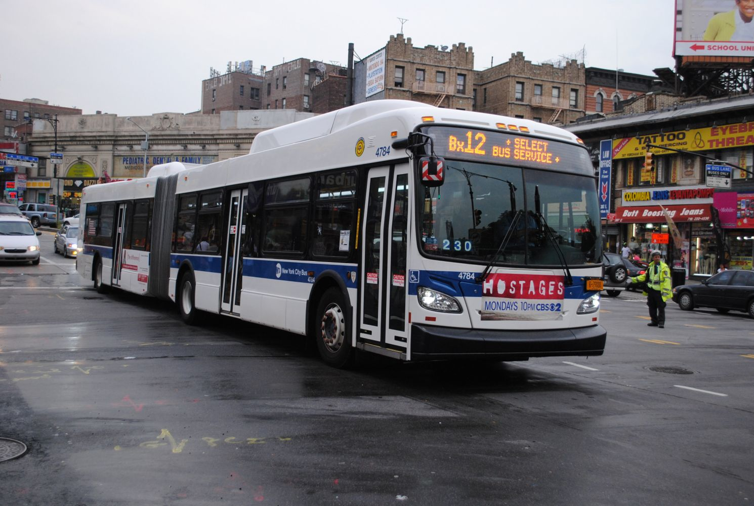 New Flyer XD60 4784 on the Bx12 Select Bus Service