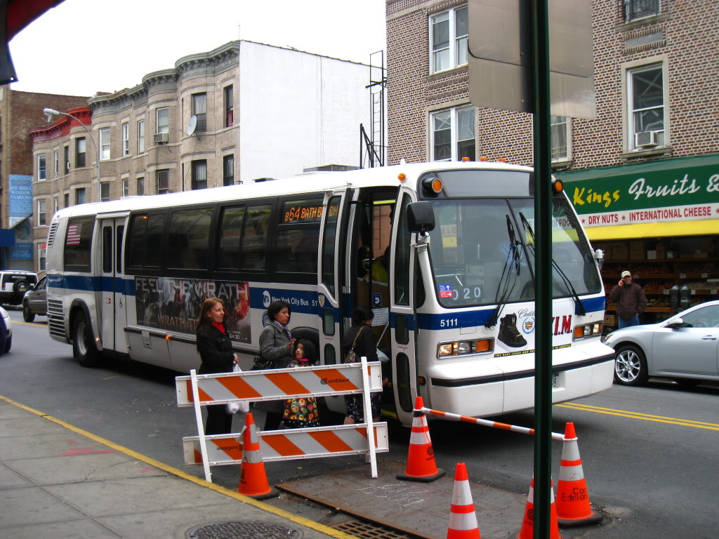 1999 Novabus RTS ZF #5111 on the B64