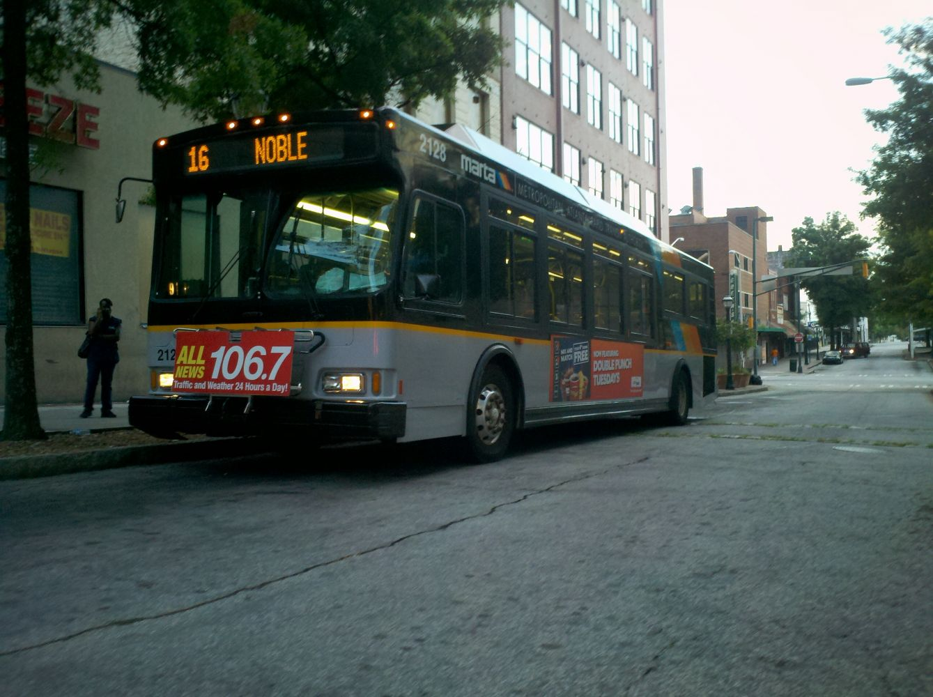 2002 Orion Bus Industries VII CNG MARTA Bus#2128