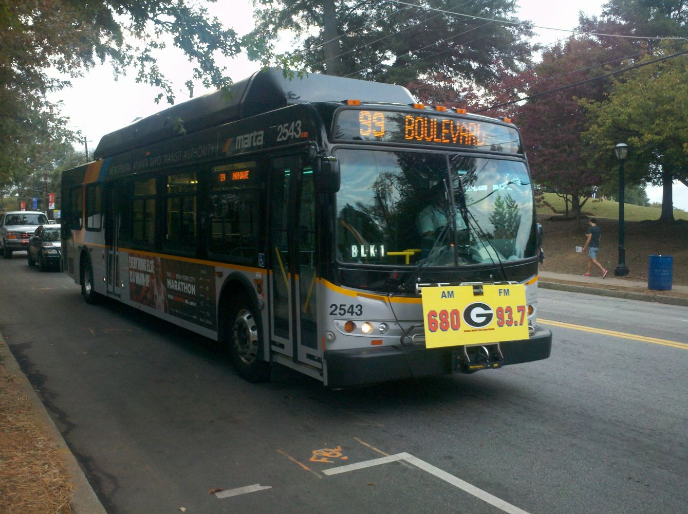 2010 New Flyer Industries C40LFR MARTA Bus#2543