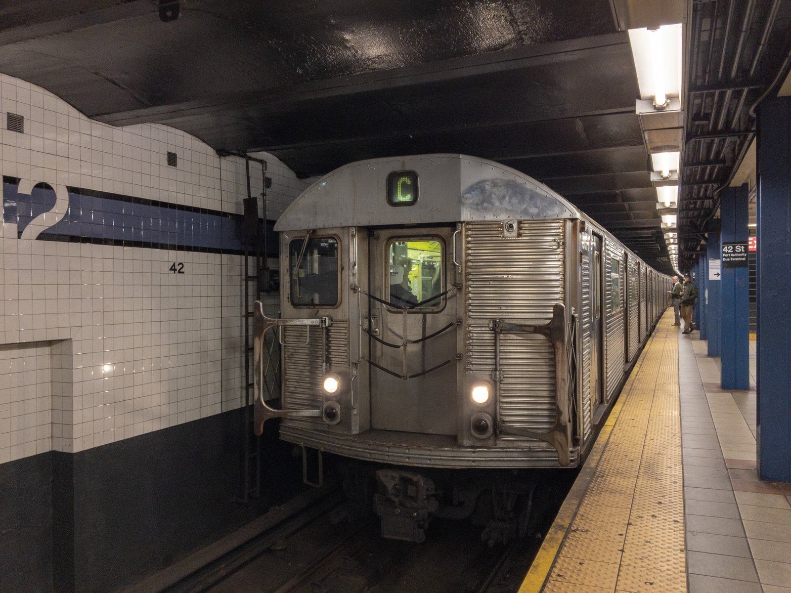R32 C Train at 42 St