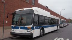 MTA NYCT 2011 New Flyer XD40 #4869 Laid Up at the Ulmer Park Depot