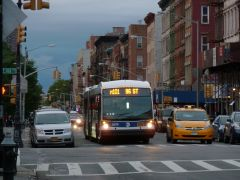 MTA New York City Bus #5879 (2012 Nova Bus Articulated LF)