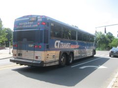 CT MCI on route 14 express