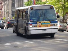 NYCT Bus 1998 NovaBus RTS #4954 on the B45