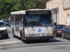 MTA Bus  1995 Orion Bus Industries #116 (former Bee-Line #416) on the Q23