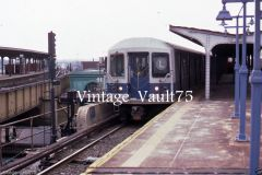 ORIGINAL SLIDE NYC SUBWAY NYCTA NY KODACHROME 1987 ATLANTIC AVE BROOKLYN