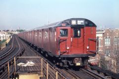 BMT IND New York City Subway El St Louis Car R30 M Line Urban Action Dupe Slide