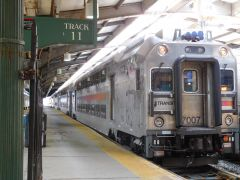 NJTransit MultiLevel Coach 7007 at Hoboken
