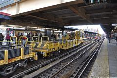 Brighton Beach; Manhattan-Bound Express - Track Panel Reconstruction Project