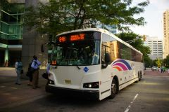 New Jersey Transit 2013 Designline ECOCoach CNG Commuter 7212