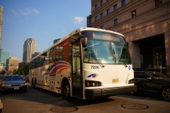 New Jersey Transit 2013 Designline ECOCoach CNG Commuter 7206