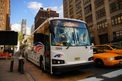 New Jersey Transit 2013 Designline ECOCoach CNG Commuter 7205