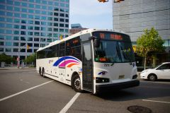 New Jersey Transit 2013 Designline ECOCoach CNG Commuter 7211