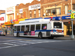1998-2000 New Flyer C40LF #960 on the B8