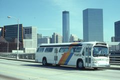 1963 GMC New Look  MARTA Bus#4148 @ MLK Jr Dr./West Hunter Street