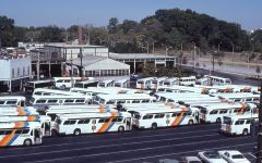 1980' Vintage MARTA Rolling Stock at the Old Pine St. Garage