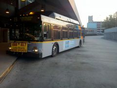 2001 New Flyer Industries C40LF MARTA Bus#2918