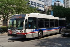 CTA NovaBus LFS (2nd generation) 6851
