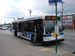 MTA NYC Bx30 bus