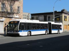 NovaBus LFS Articulated #5796  Route: Bx15