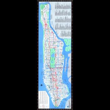 Bus maps nyc transit forums 1986 new york city transit authority manhattan bus map sciox Choice Image