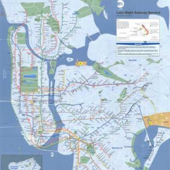 1987 Subway Map.Downloads Nyc Transit Forums