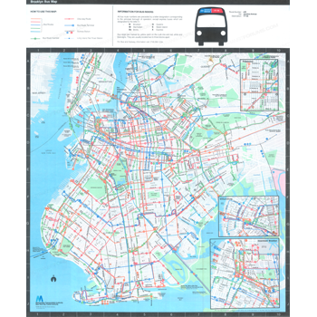Bus Maps NYC Transit Forums - Brooklyn bus map