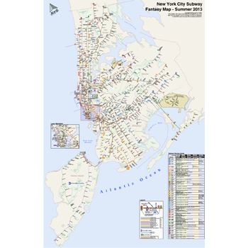 Nyc Subway Map August 2013.Member Created Maps Nyc Transit Forums