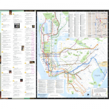 New York City Subway Map Brochure.Downloads Nyc Transit Forums