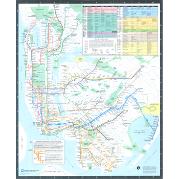 1987 Subway Map.1987 New York City Transit Authority Subwaymap Subway Maps Nyc