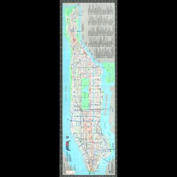 Bus maps nyc transit forums 1980 new york city transit authority manhattan bus map sciox Choice Image