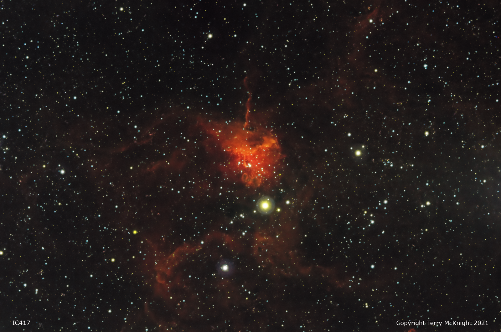 IC417 The Spider