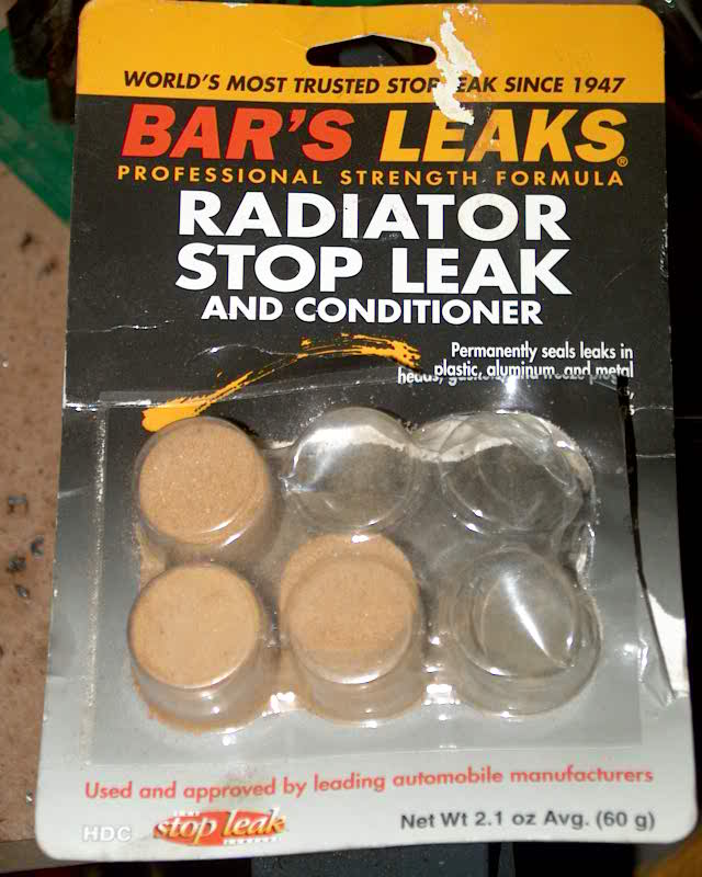 Bar's Leaks powder and GM pellets - General Cadillac Forums