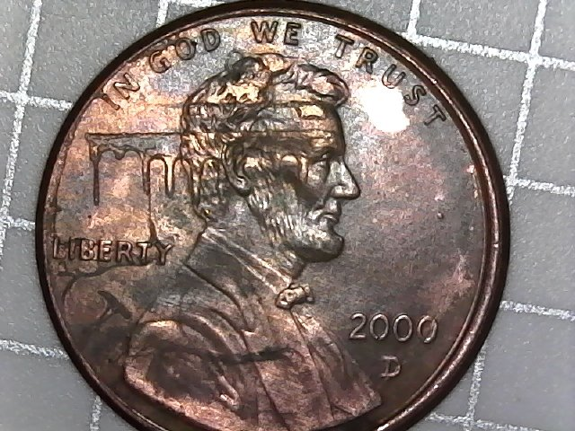 2000 D penny error or ? - Error and Variety Coin Forums