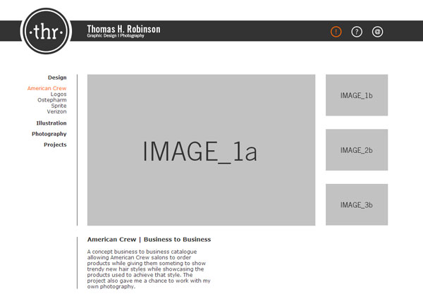 Image Replace - 3 Thumbs and a Main Image - JavaScript