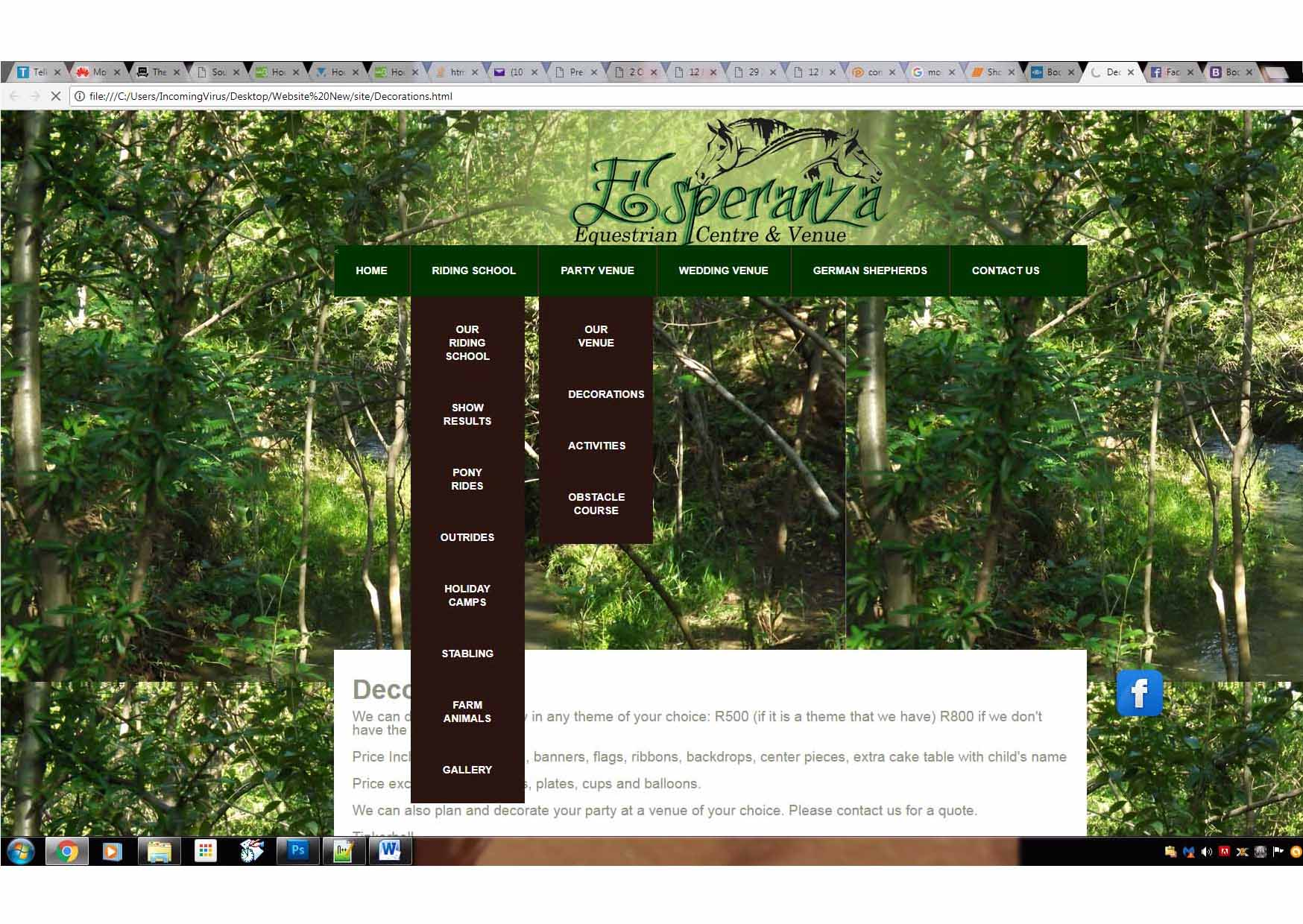 How to add multiple images within a modal - HTML/XHTML
