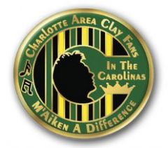 Charlotte Area Clay Fans Pin